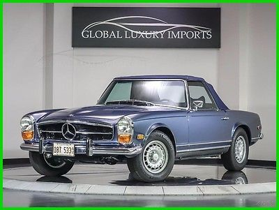 1971 Mercedes-Benz R-Class 2 Roadster Used Convertible