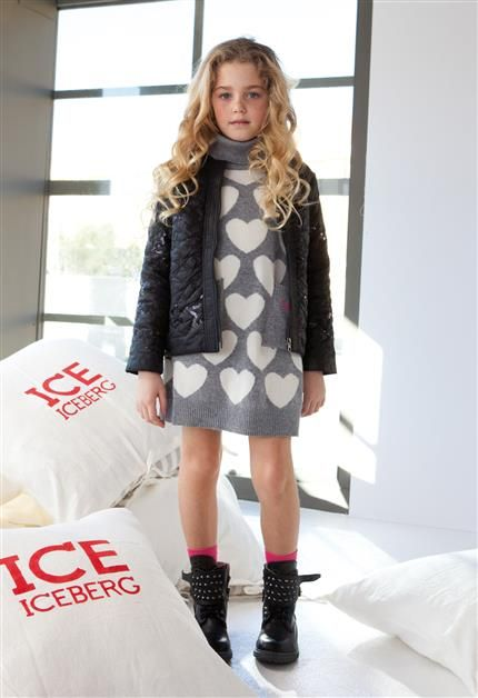 ice iceberg heart dress