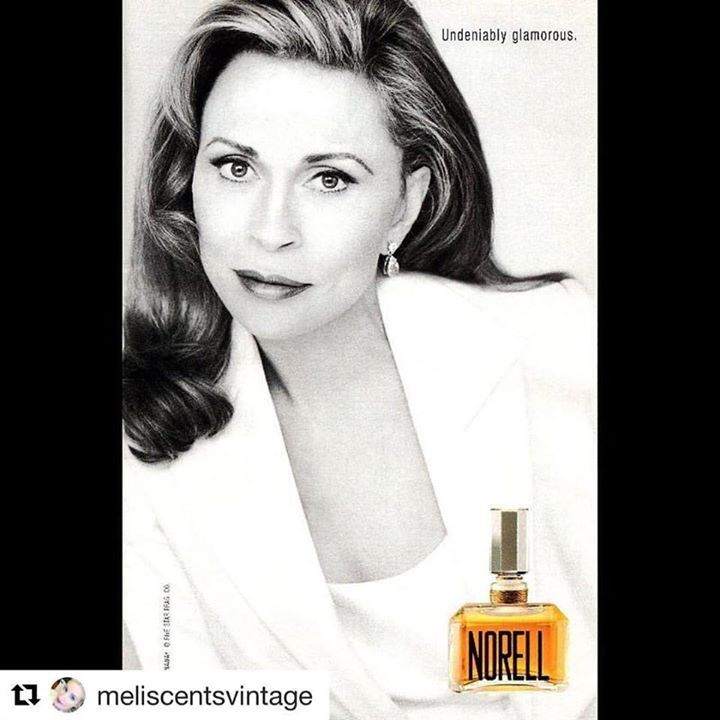 #Repost @meliscentsvintage   1998 Norell perfume ad with Faye Dunaway  #vintage #ad #perfume #fayedunaway #norell #norellnewyork