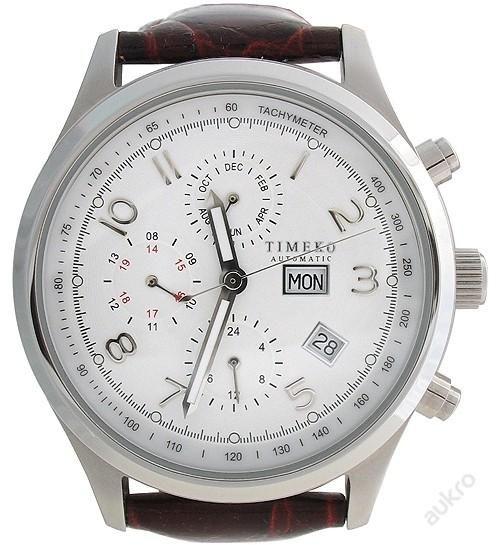 Masivní hodinky s tachymetrem Timeko Automatic