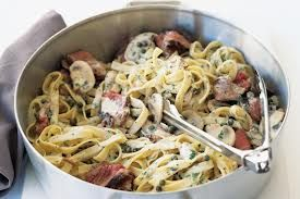 shaved beef pasta recipe - Google Search