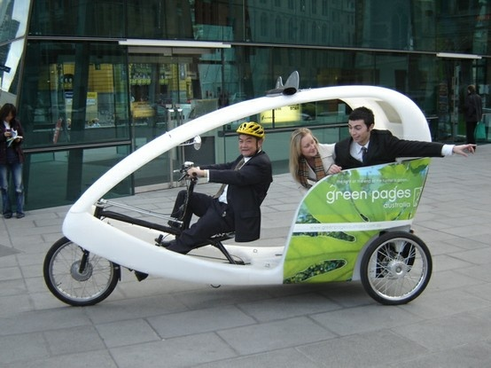 three wheeler, green pages, Melbourne City bikes