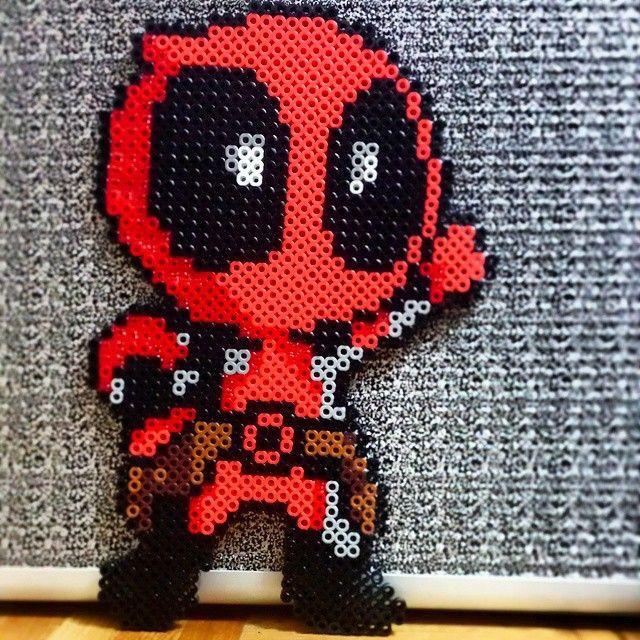 Deadpool perler