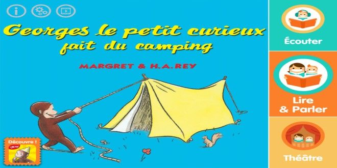 Georges, camping, Je Lis Avec, ebook, lecture, histoire