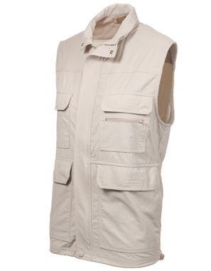 Rufiji MaraTech Multi-Pocket Safari Gilet :: The Safari Store :: Essential Safari Clothing, Safari Luggage, Safari Accessories. FREE Safari Packing Lists & Expert Advice.