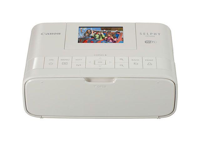 Canon SELPHY CP1200 Black Wireless Compact Photo Printer | Canon Online Store