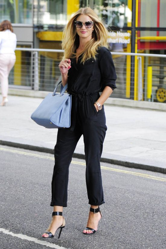If only we looked as chic as Rosie Huntington-Whiteley for an afternoon of errands