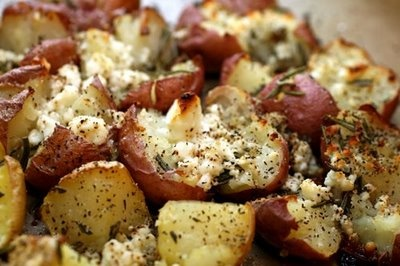 Twice-Baked Potatoes with Rosemary and Feta I cooked these on the ...