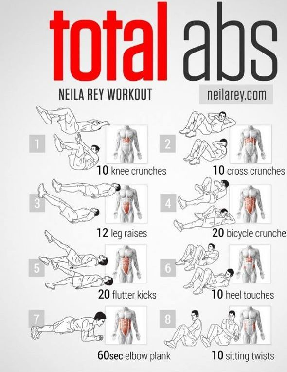 """These are my """"go to"""" ab moves. I'm sure if I did this every day my abs would be awesome"""