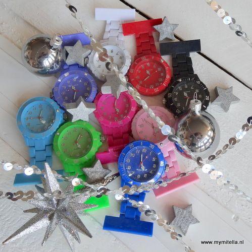 CADEAUTIP voor kerst! Verpleegstershorloge schakel- http://www.mymitella.nl/c-2866046/verpleegsterhorloge-kleur/
