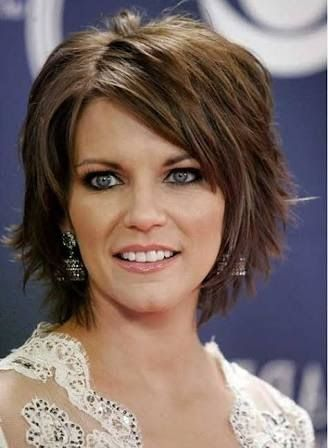 hairstyles for coarse thick hair over 50 - Google Search