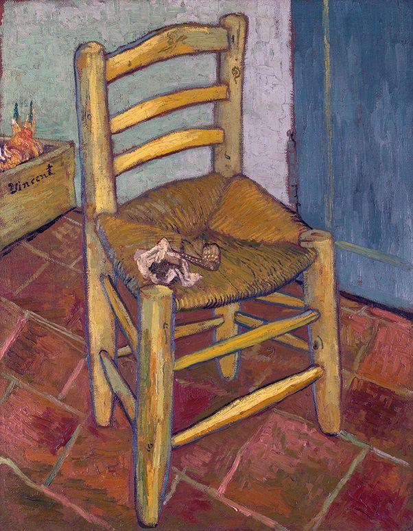 lonequixote:  Van Gogh's Chair by Vincent van Gogh (via @lonequixote)