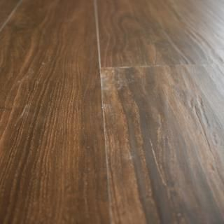 Hand Scraped Walnut Luxury Vinyl Plank Flooring 4mm X 6 Quot X