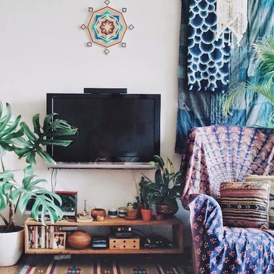508 best images about hippie room on pinterest bohemian - Boho chic living room decorating ideas ...
