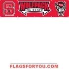 North Carolina State Wolfpack Banner 8' x 2'
