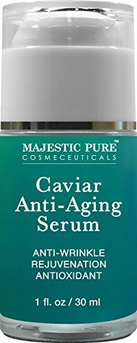Majestic Pure Anti Aging Serum Antioxidant Blue Marine Algae Caviar Anti Wrinkle Serum Skin Rejuvenation  Nourishment 1 fl oz >>> Check out this great product.
