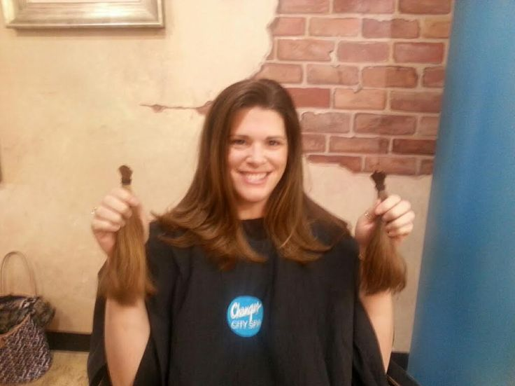 Hair donation, transformation by Tracey