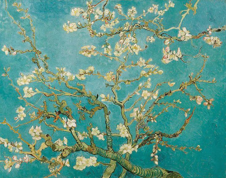 "Kindergarten Art Class: Vincent van Gogh ""ΑΝΘΙΣΜΕΝΗ ΑΜΥΓΔΑΛΙΑ"""