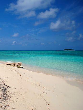 Playas de ensoñación en San Andres y Providencia Colombia.