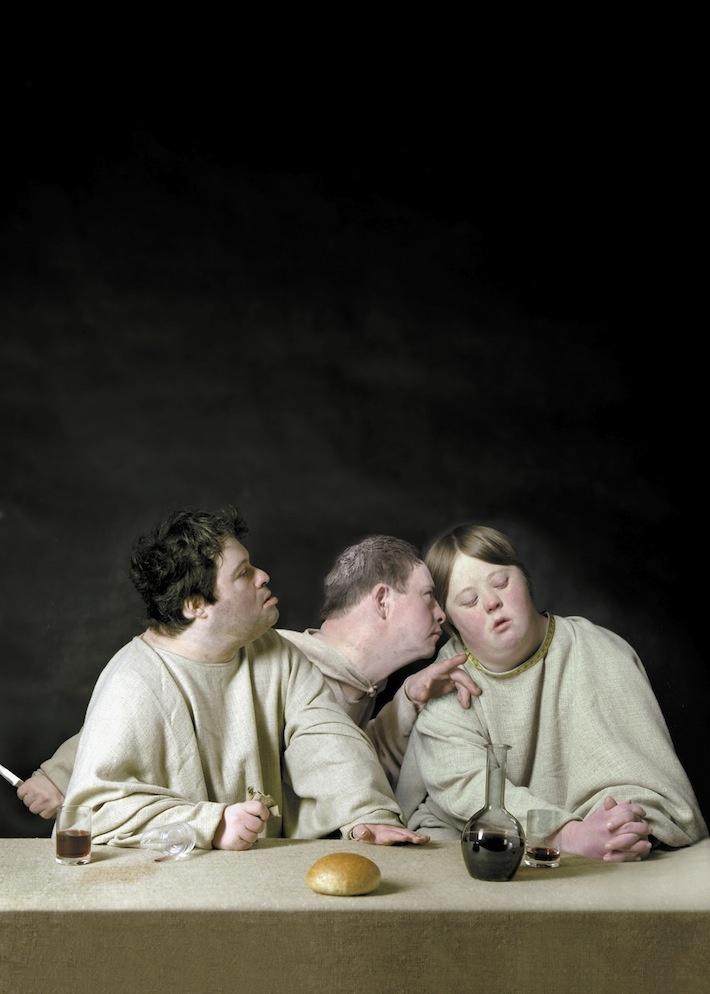 The Last Supper 1998 ©Raoef Mamedov Gallery Lilja Zakirova