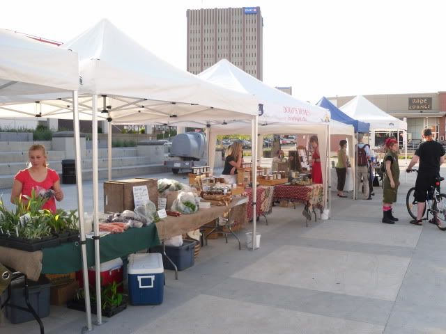 Our own farmers market