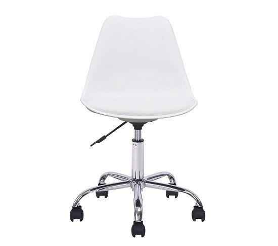 Chaises Et Fauteuils - Chaise dactylo NORWAY Blanc