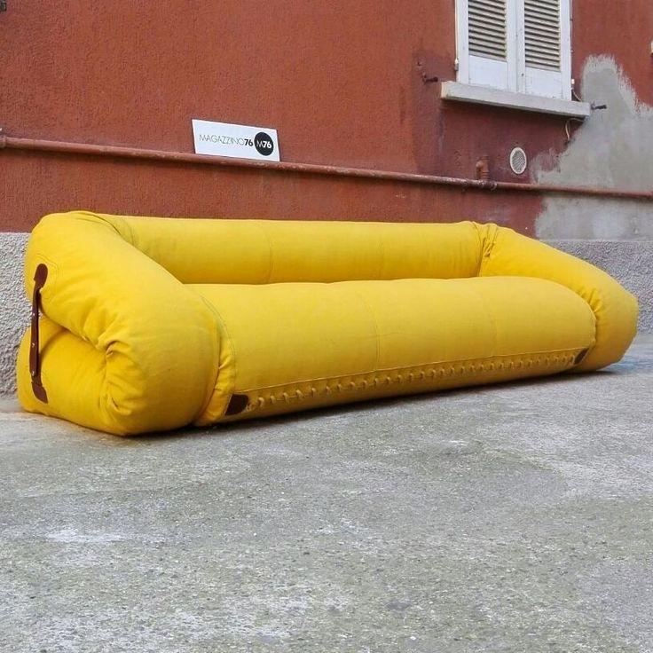 Oltre 25 fantastiche idee su divano giallo su pinterest - Divano anfibio giovannetti ...