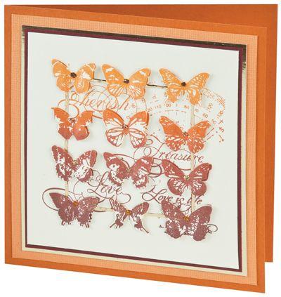 Stamp-it Australia: siset067 Butterfly Dozen - Card by Susan