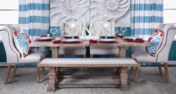 Best 25 Aqua dining rooms ideas on Pinterest  : ceb10757a4b6931044e45b52f1955345 coastal dining rooms red dining rooms from www.pinterest.com size 736 x 391 jpeg 61kB