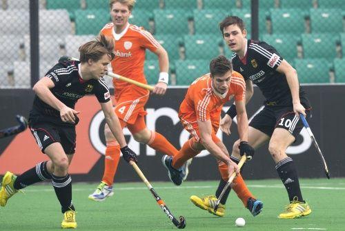 Holenderscy hokeiści w półfinale