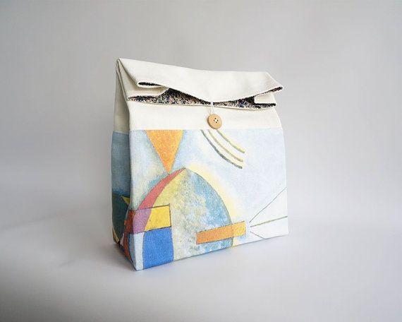 Lunch bag - Kandinsky print