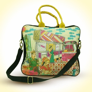 The Royal Flirt  Laptop Bag with Handle   MRP - Rs. 1495