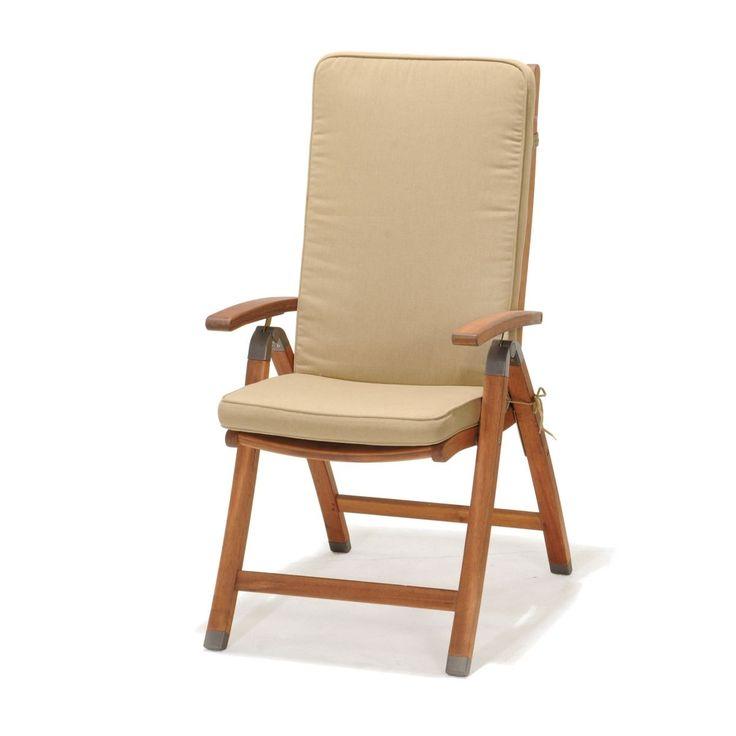 Krzesło - D2 - Catalina z poduszką i podłokietnikami