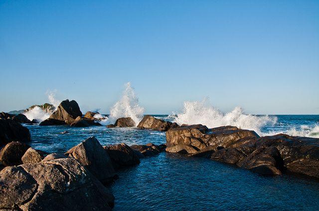 Praia da Armação - Florianópolis - SC - Brasil