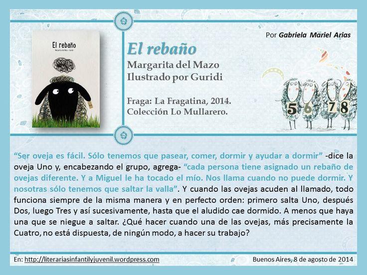 EL REBAÑO. Autora: Margarita del Mazo. Ilustrador: Guridi. Por Gabriela Mariel Arias.