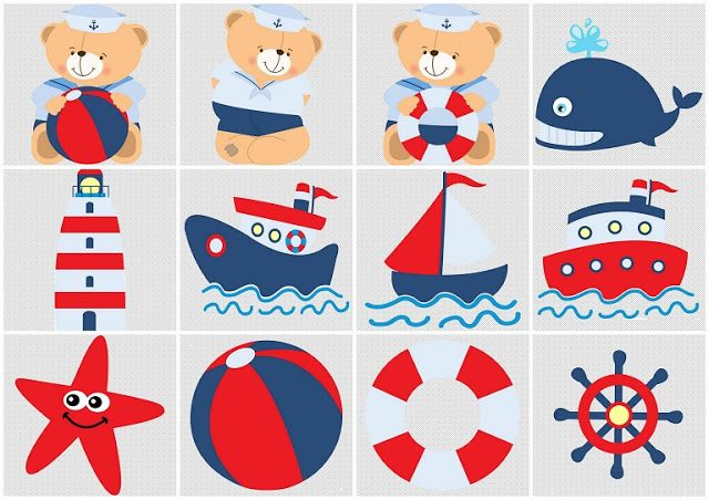 Sailor Bear Clipart.