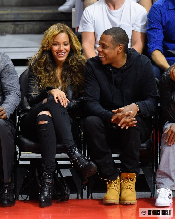 Beyoncé & Jay Z at the game 'Brooklyn Nets and the Los Angeles Clippers' in Los Angeles – 22 jan 2015