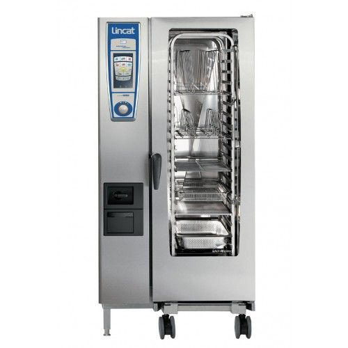 Commercial Catering Equipment : Electric Combi Ovens : Lincat OSCWE201 Opus Whitefficiency 20 x 1/1GN Electric Combi Oven