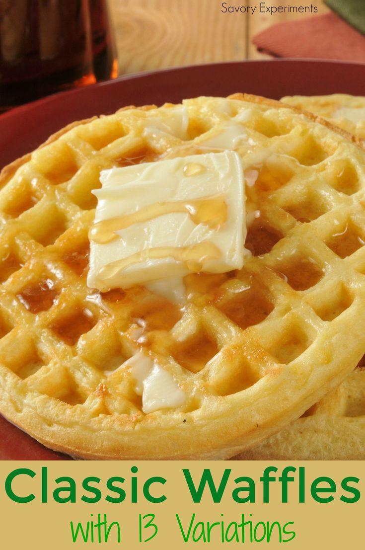 25+ bästa Classic waffle recipe idéerna på Pinterest | Våfflor