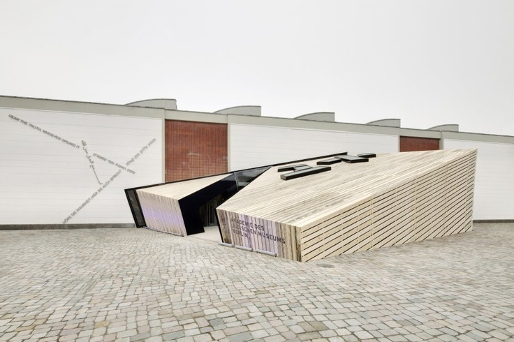 Academy of the Jewish Museum Berlin in the Eric F. Ross building   Studio Daniel Libeskind