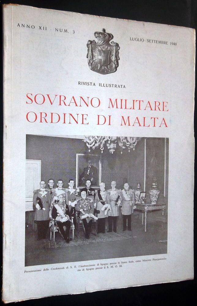 Rivista Illustrata - Luglio-Settembre 1948. #OrderofMalta #SMOM