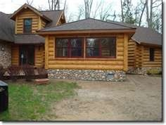 photos of Log Cabin Siding Vinyl