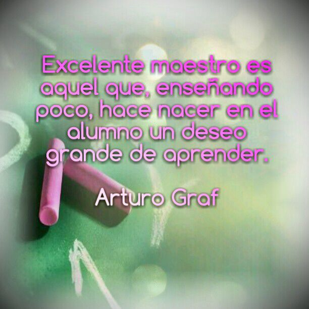 Wonderful Spanish teaching quote. #Frases para profesores ...