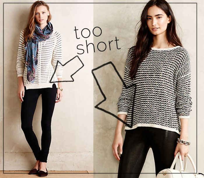 sweaters long enough to wear with leggings