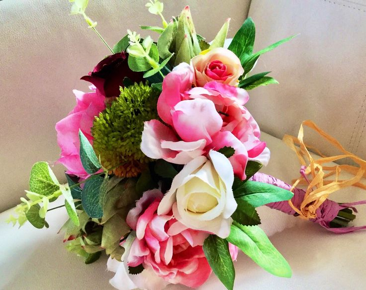 Excited to share the latest addition to my #etsy shop: peony posy #weddings #bouquet #peonyweddingposy