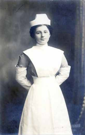 This picture portrays Daisy at Durban at Berea Nursing Home.She gained knowledge in drug administration.