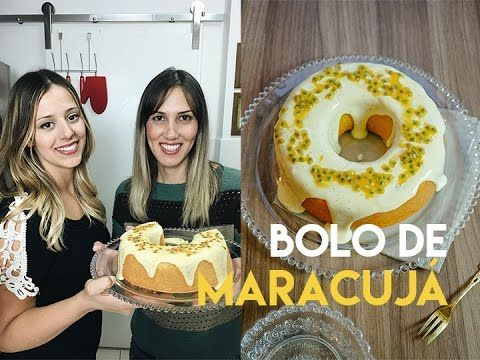BOLO DE MARACUJÁ ft Receitas e Temperos - YouTube