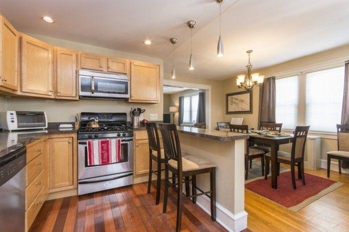 Comment meubler votre cuisine semi-ouverte? - modele de cuisine americaine