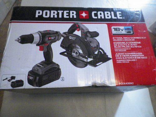 PORTER-CABLE 2-Tool 18-Volt Cordless Combo Kit Item#518766 Model#PCCK406N2 UPC#885911345460 https://cordlesscircularsawreview.info/porter-cable-2-tool-18-volt-cordless-combo-kit-item518766-modelpcck406n2-upc885911345460/