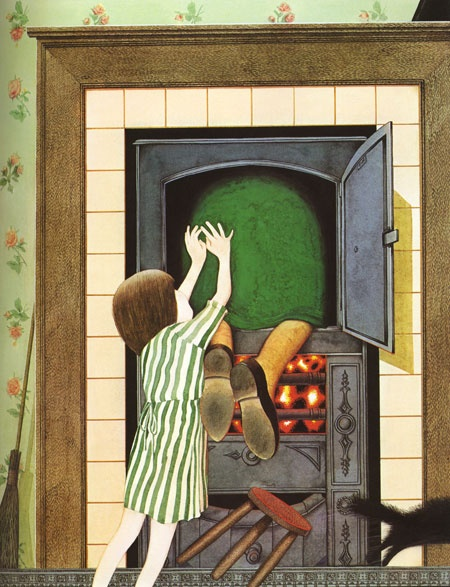 """""""Hansel and Gretel"""" by Anthony Browne."""